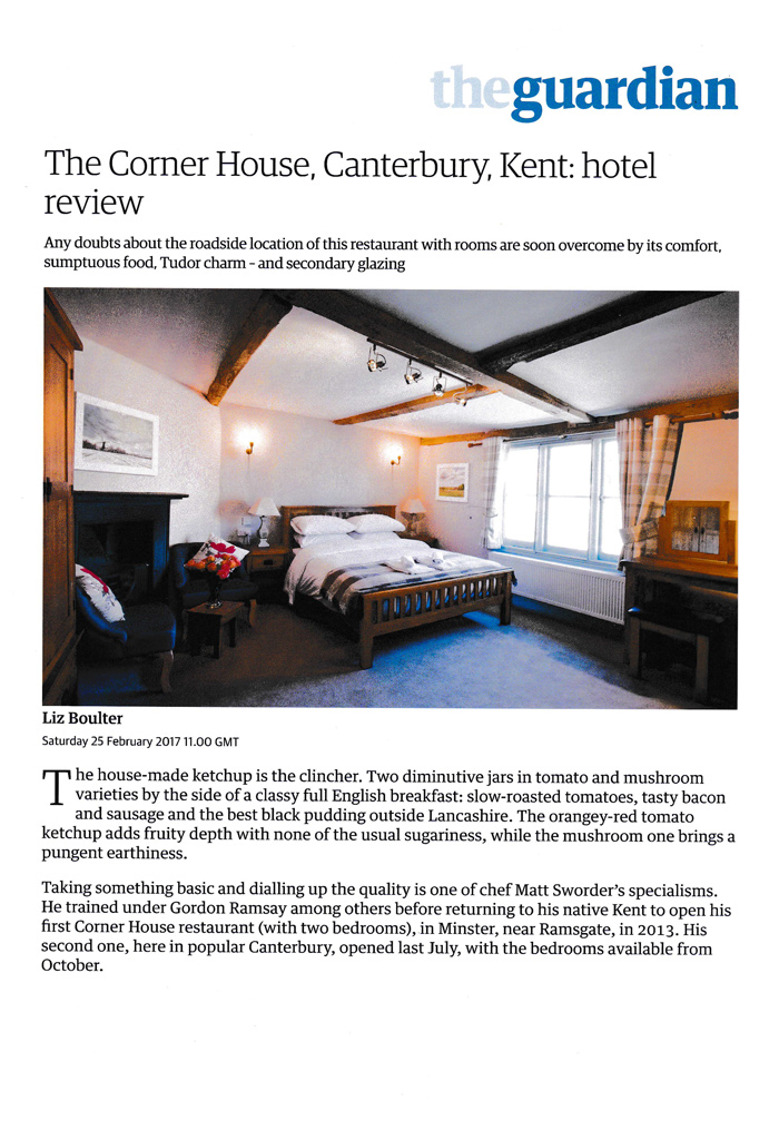 The Guardian Review Corner House