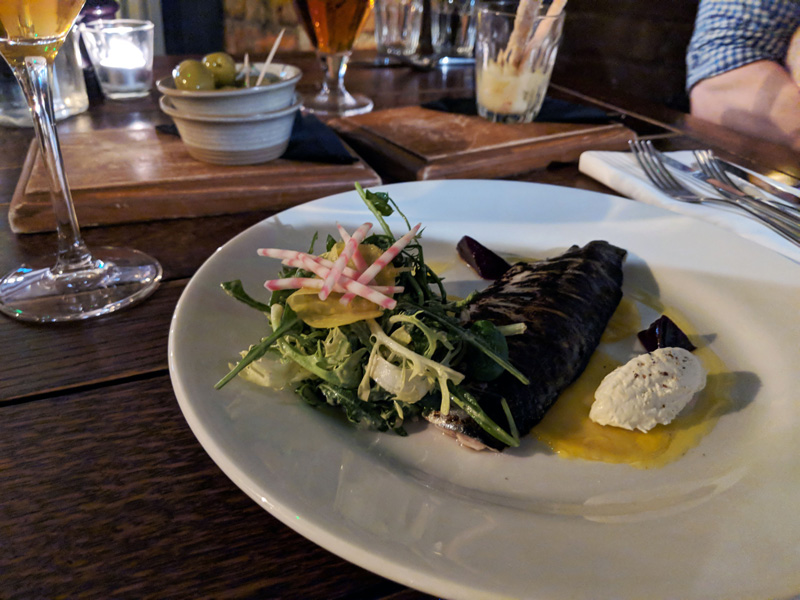 Corner House Canterbury reviewed by The Humble Pescatarian